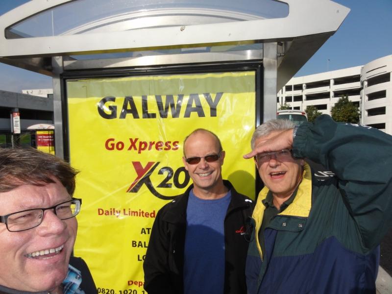 Lettvint å reise fra Dublin til Galway.  Ekspressbuss fra flyplassen og direkte til Galway.