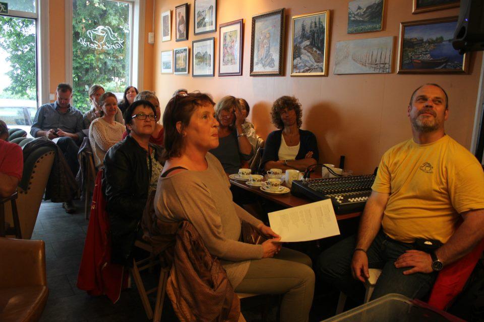 Tante Gerda 28.7.2012. God kontakt.