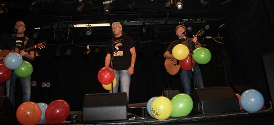 PDS sin 25. års jubileumskonsert. Gregers, Hamar, 11.10.14.